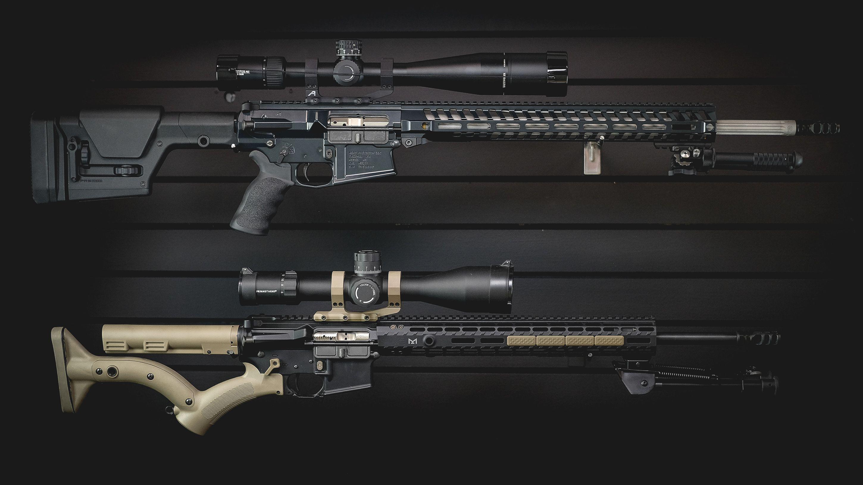 AR-10 in 6.5 Creedmoor vs AR-15 in 6.8 SPC II