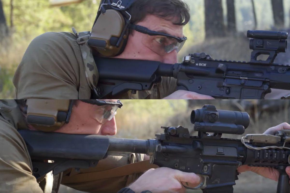 Garand Thumb M4 vs AR