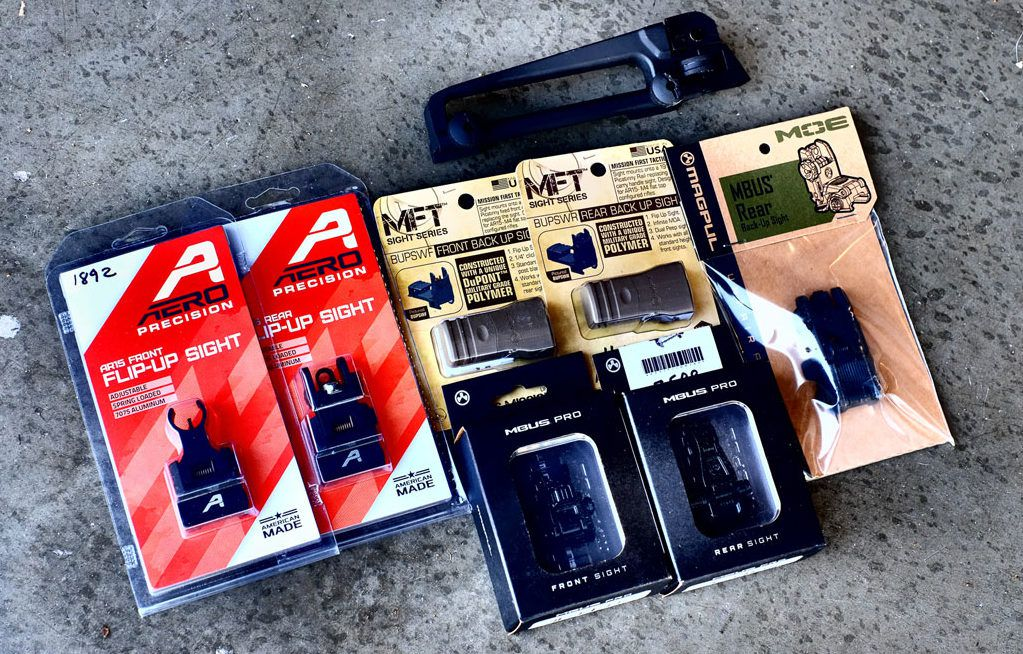 Best Back Up Iron Sights (BUIS) Options For your AR