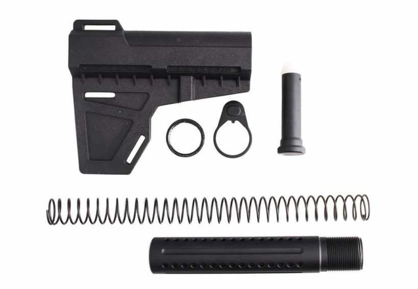 AR-15 Shockwave Blade w/ Tiger Rock Pistol Buffer Tube - MSRP - $79.95