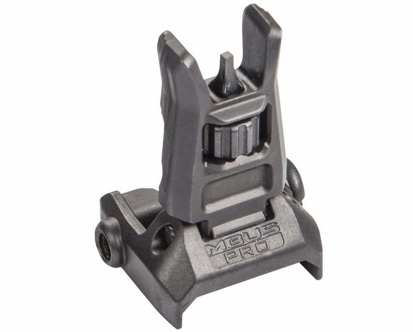 Magpul MBUS Pro Front Flip Sight - Black Best Back Up Iron Sights