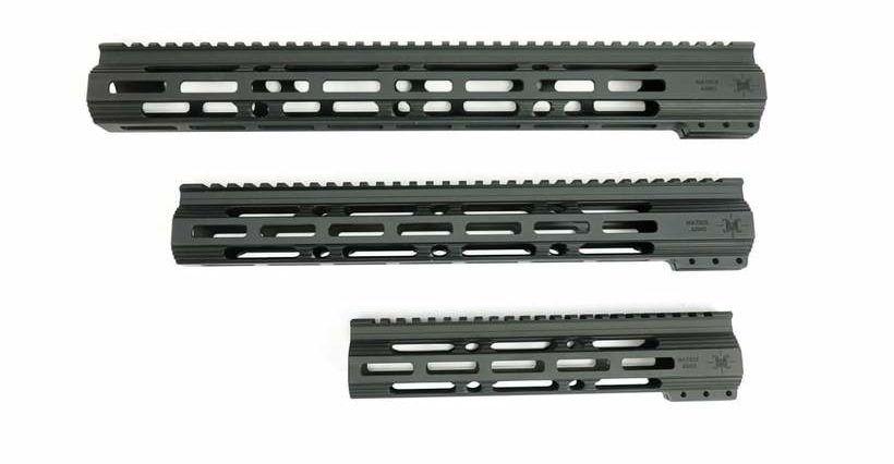 Matrix Arms Foxtrot M-LOK Free Float Handguard - Black - MSRP - $89.95