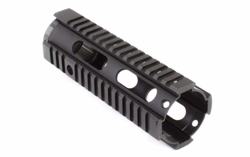 "Tiger Rock 7"" Carbine Length Free Float Quad Rail Handguard w/ Barrel Nut - MSRP - $42.95"