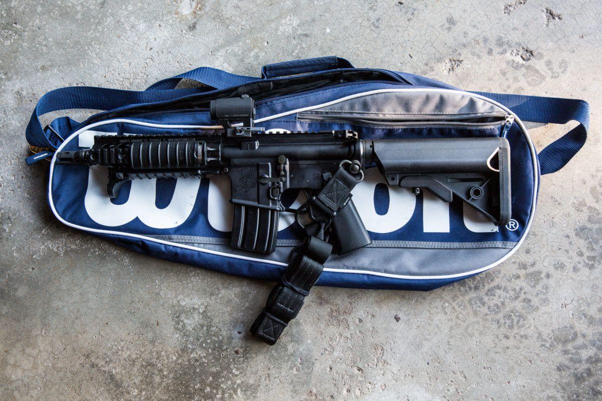300blk SBR Trunk Gun