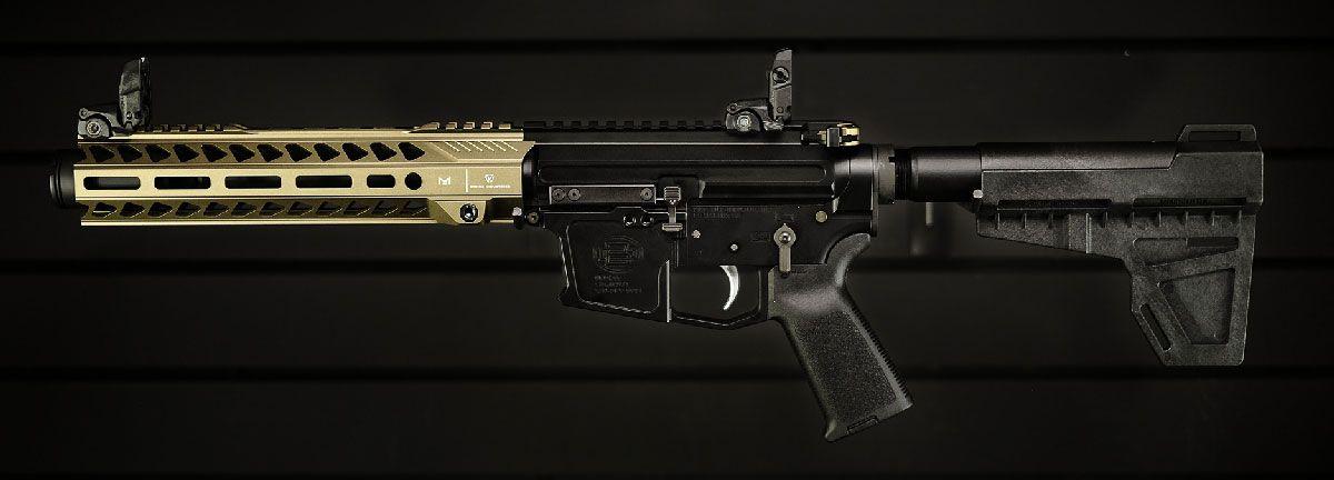 9mm AR Carbine finished build