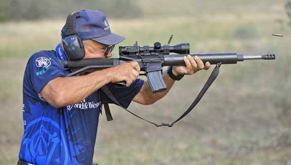 Jerry Miculek AR-15