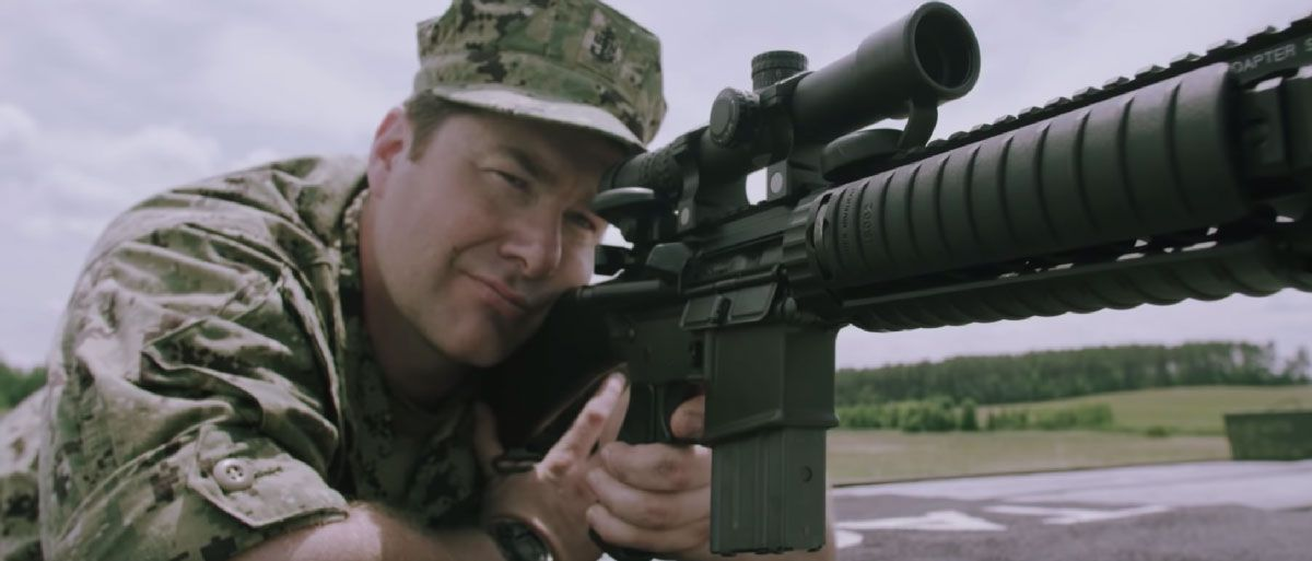 MK12 SPR - Special Purpose Rifle with Navy SEAL Monty Leclair