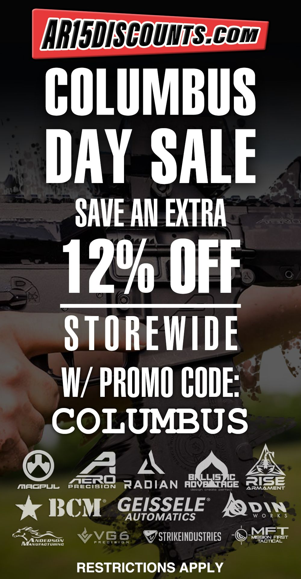 AR15Discounts Columbus Day Sale