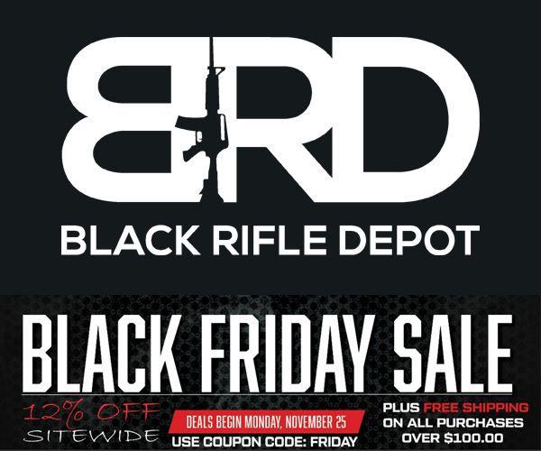 Black Friday at Black Rifle Depot
