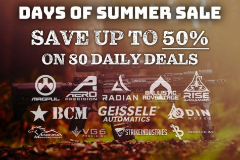 Days of Summer Sale