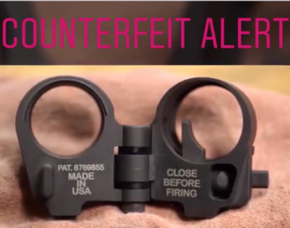 Counterfeit LAW Tactical Folding Stock Adapters - Q&A with LAW Tactical