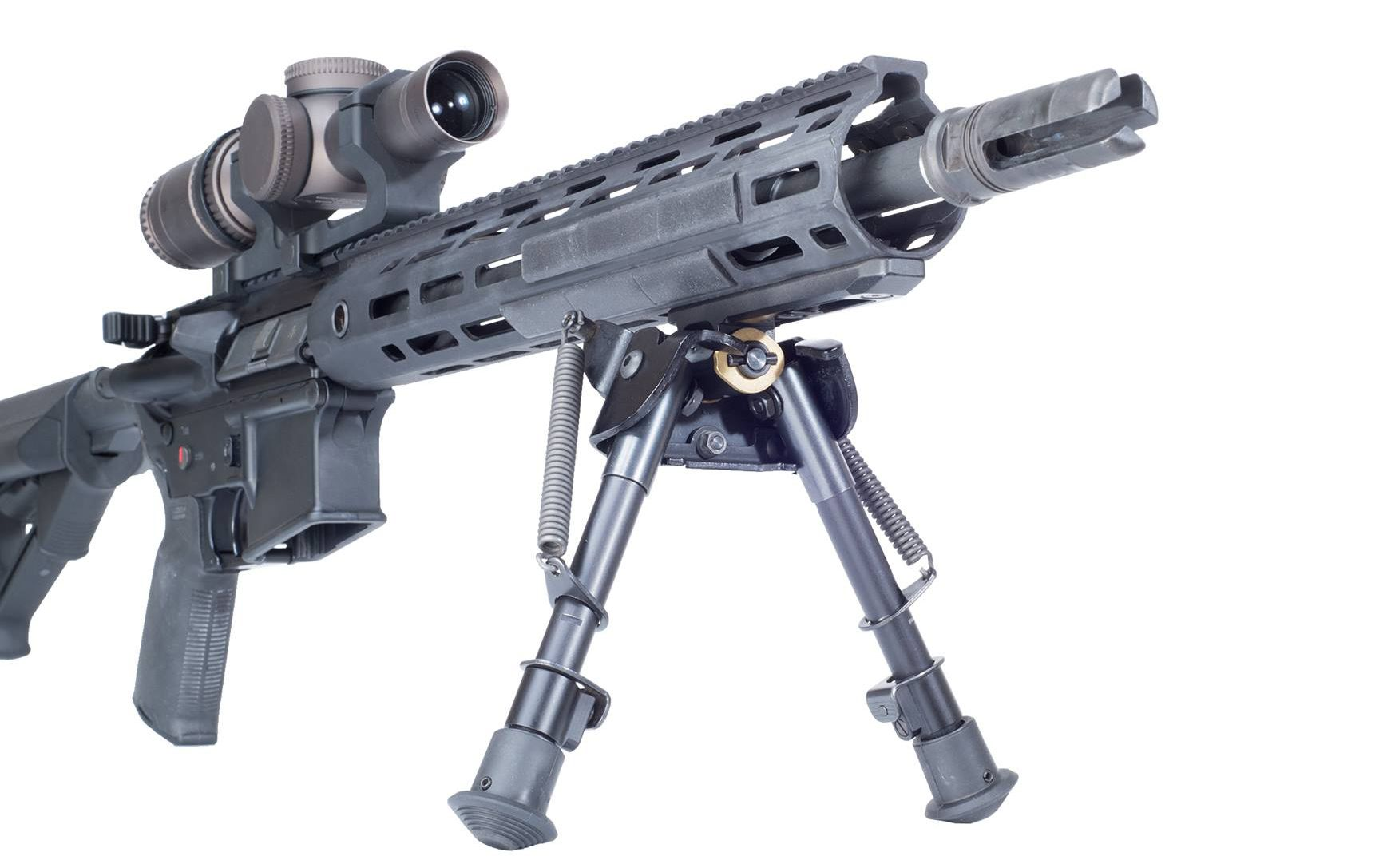 Dan Brokos on Trijicon Optics for ARs, OSS Suppressors & New Gun Owners