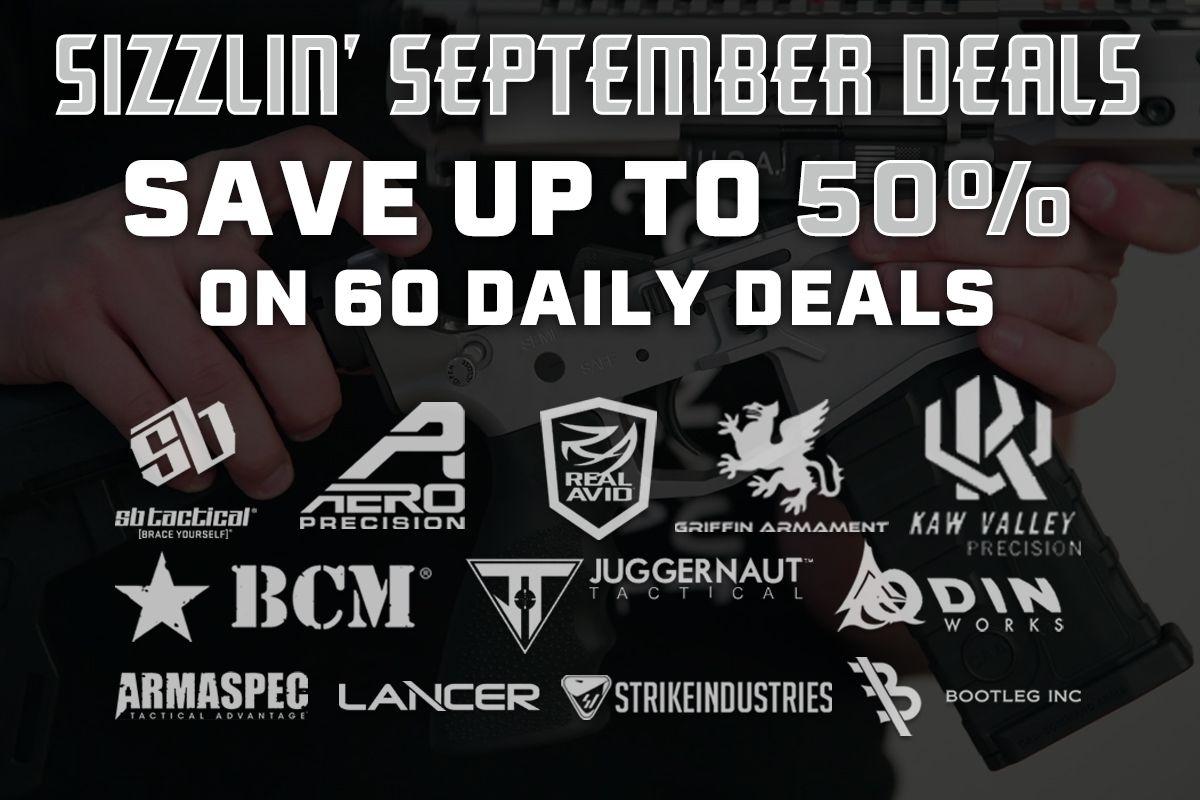 Sizzlin' September Deals