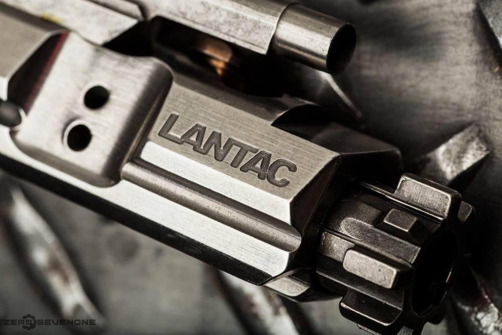Lantac USA - On the Enhanced Bolt Carrier Group, Dragon Muzzle Brake & Glocks