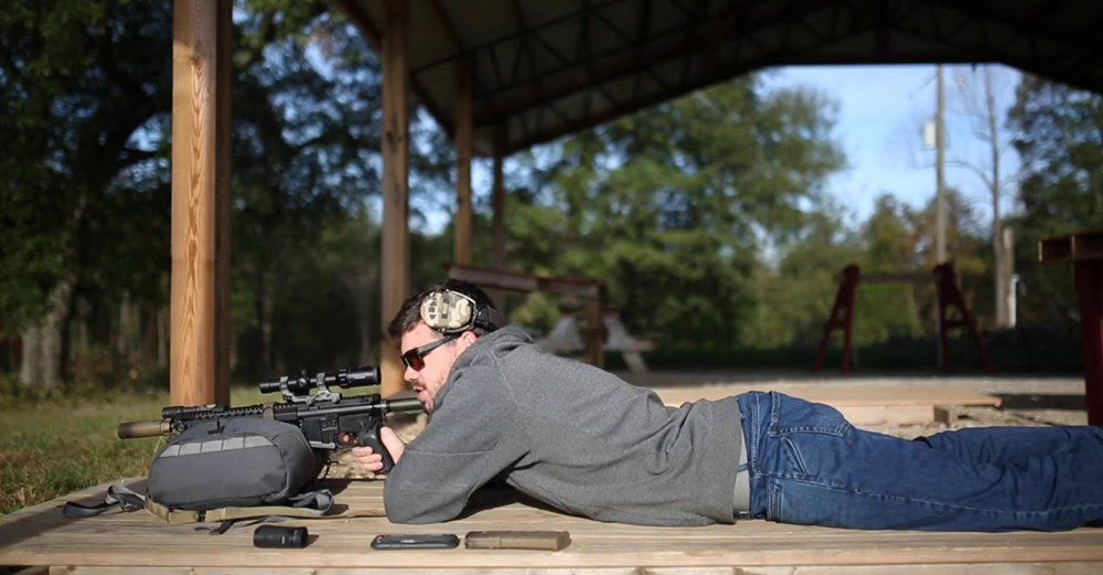 Mark Smith of JBS Training Group Talks Rifle Support Bags