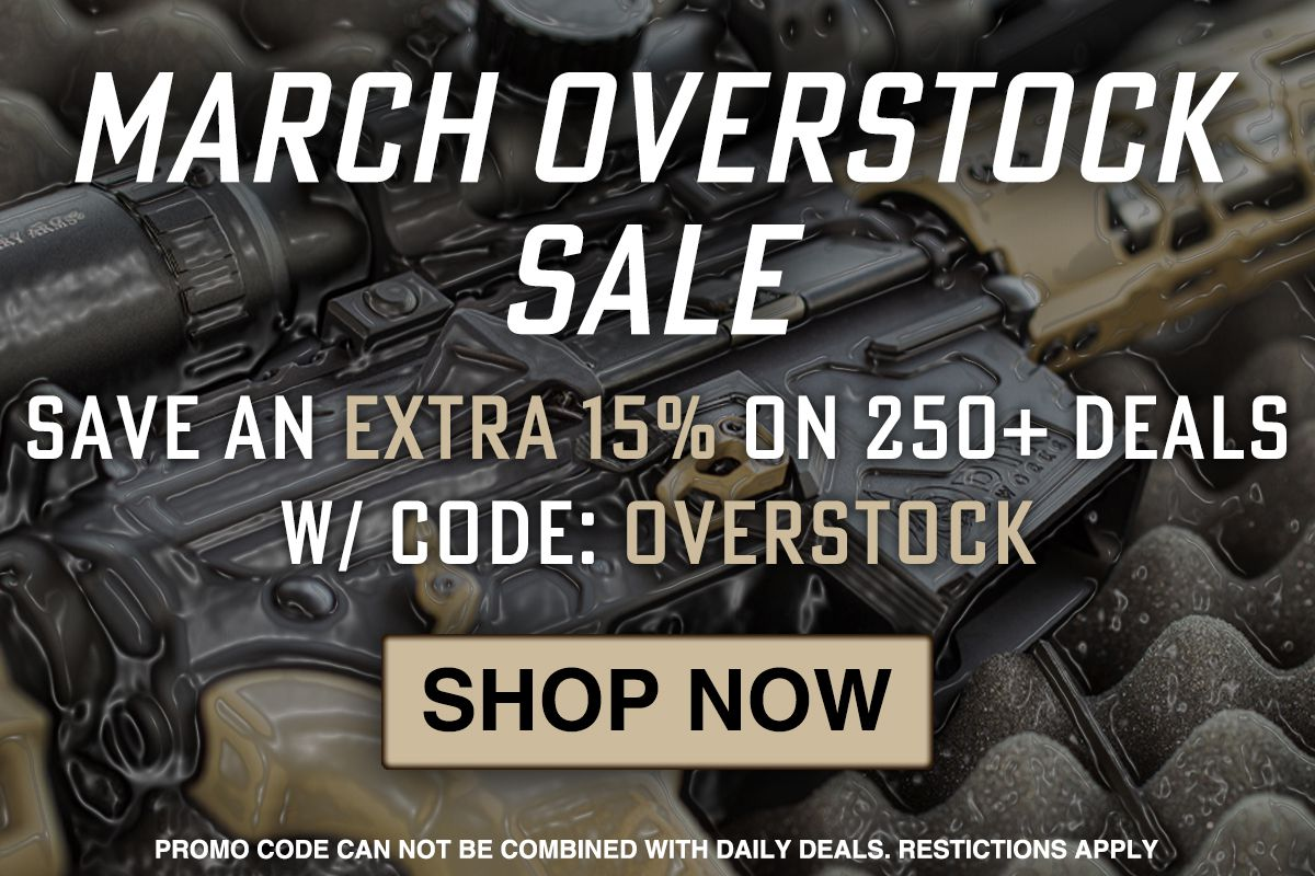 AR15Discounts March Overstock Sale