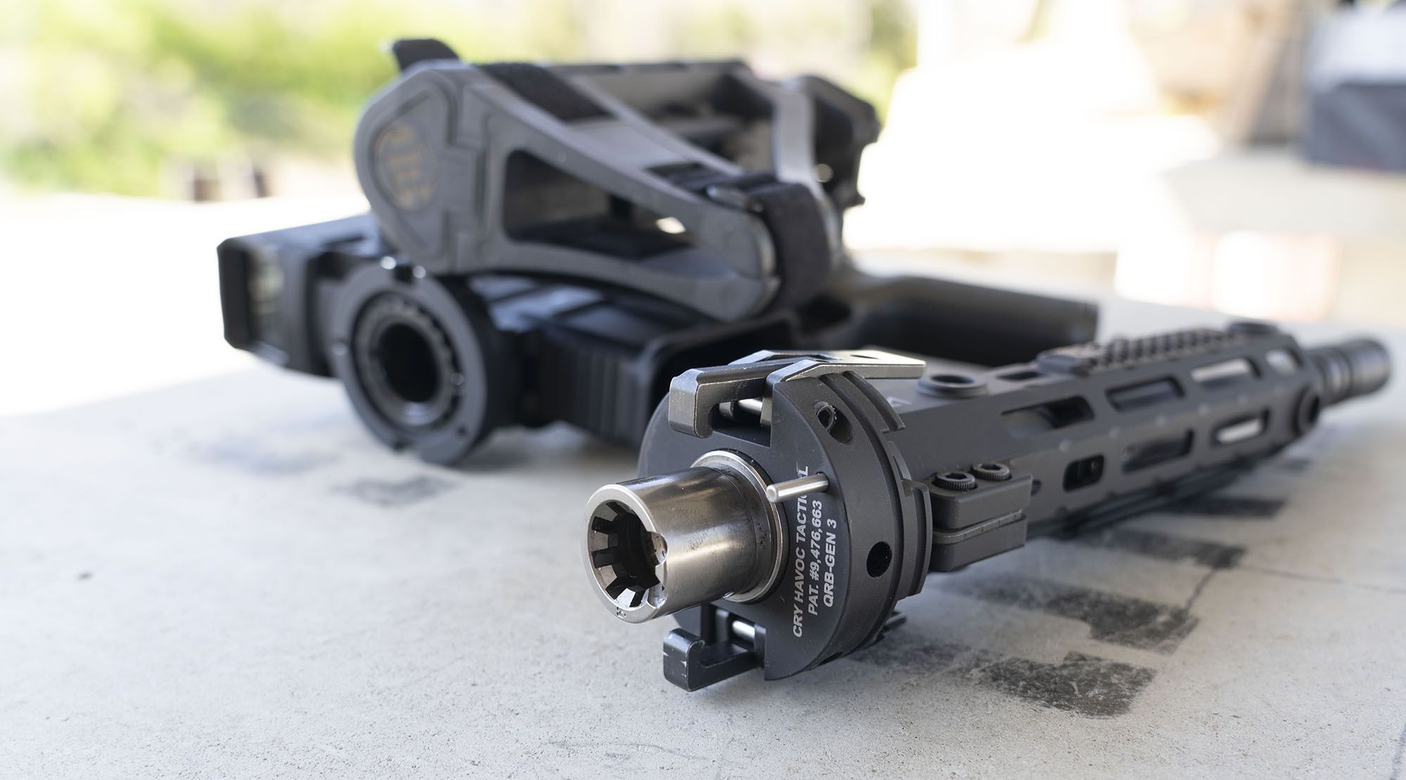 Cry Havoc Tactical QRB Kit -Full-Size AR in the Smallest of Packages