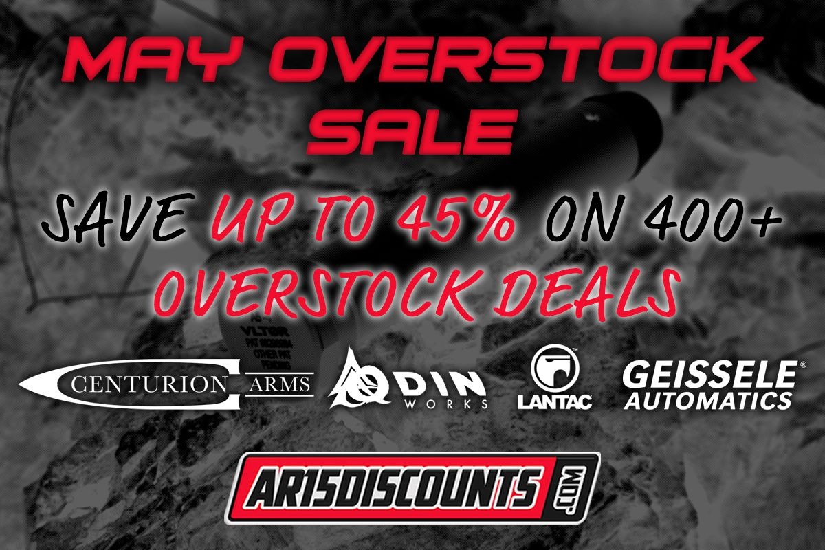 May Overstock Sale at AR15Discounts.com