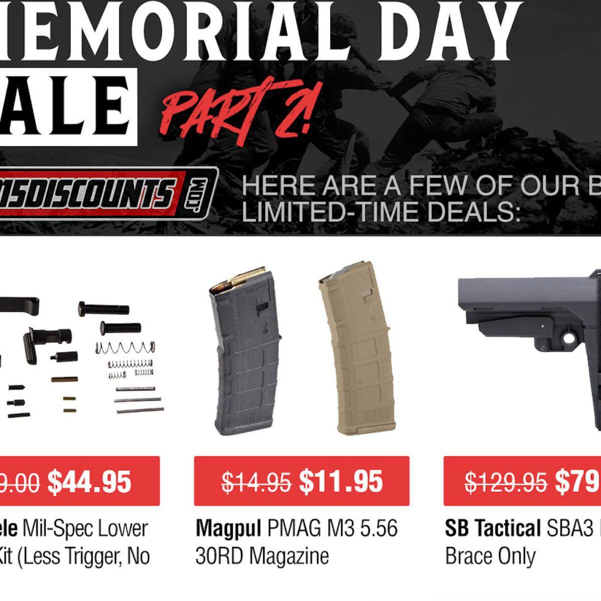 Memorial Day Deals are Live at AR15Discounts.com